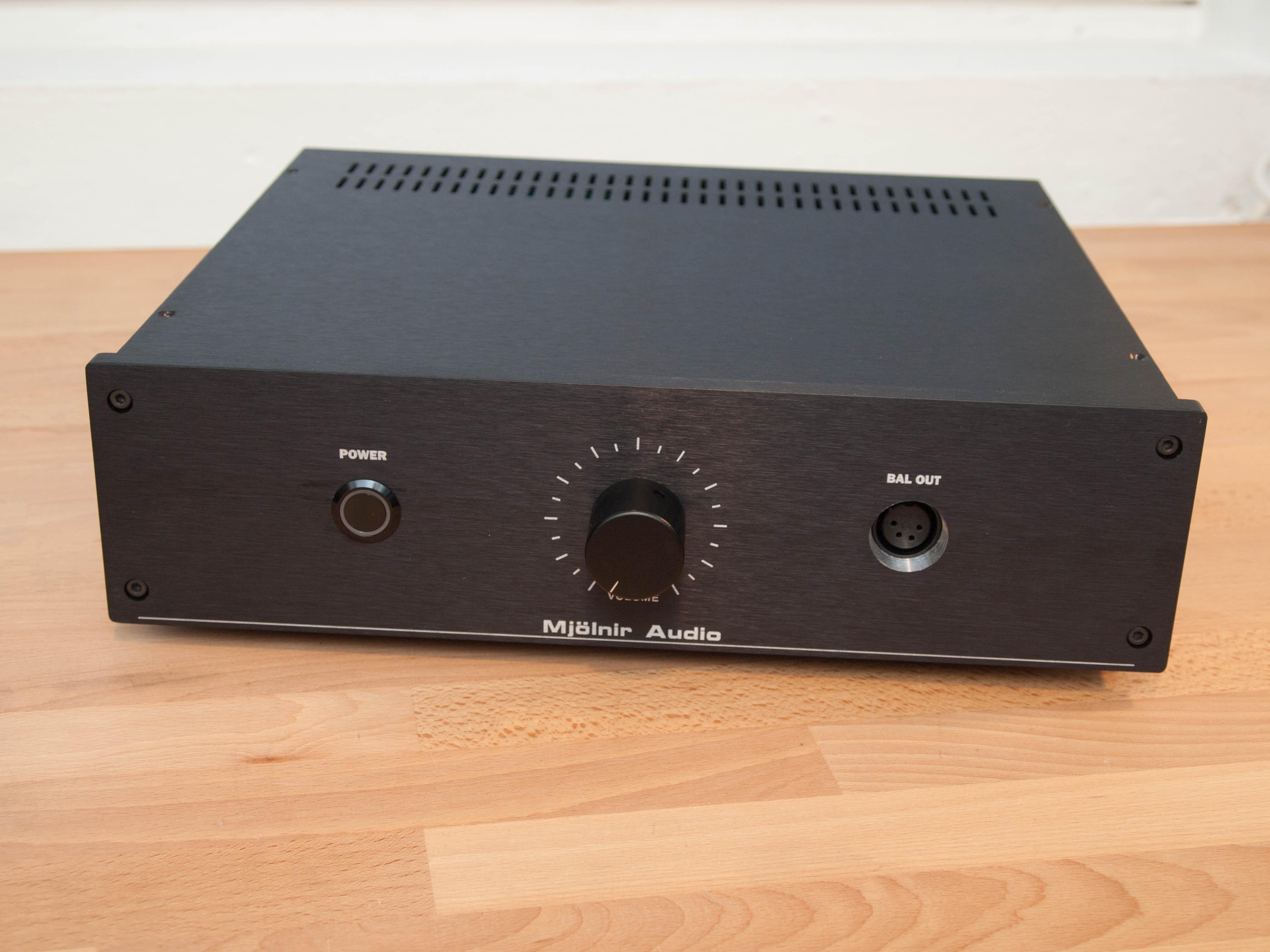 Amplifiers for dynamic headphones – Mjölnir-Audio